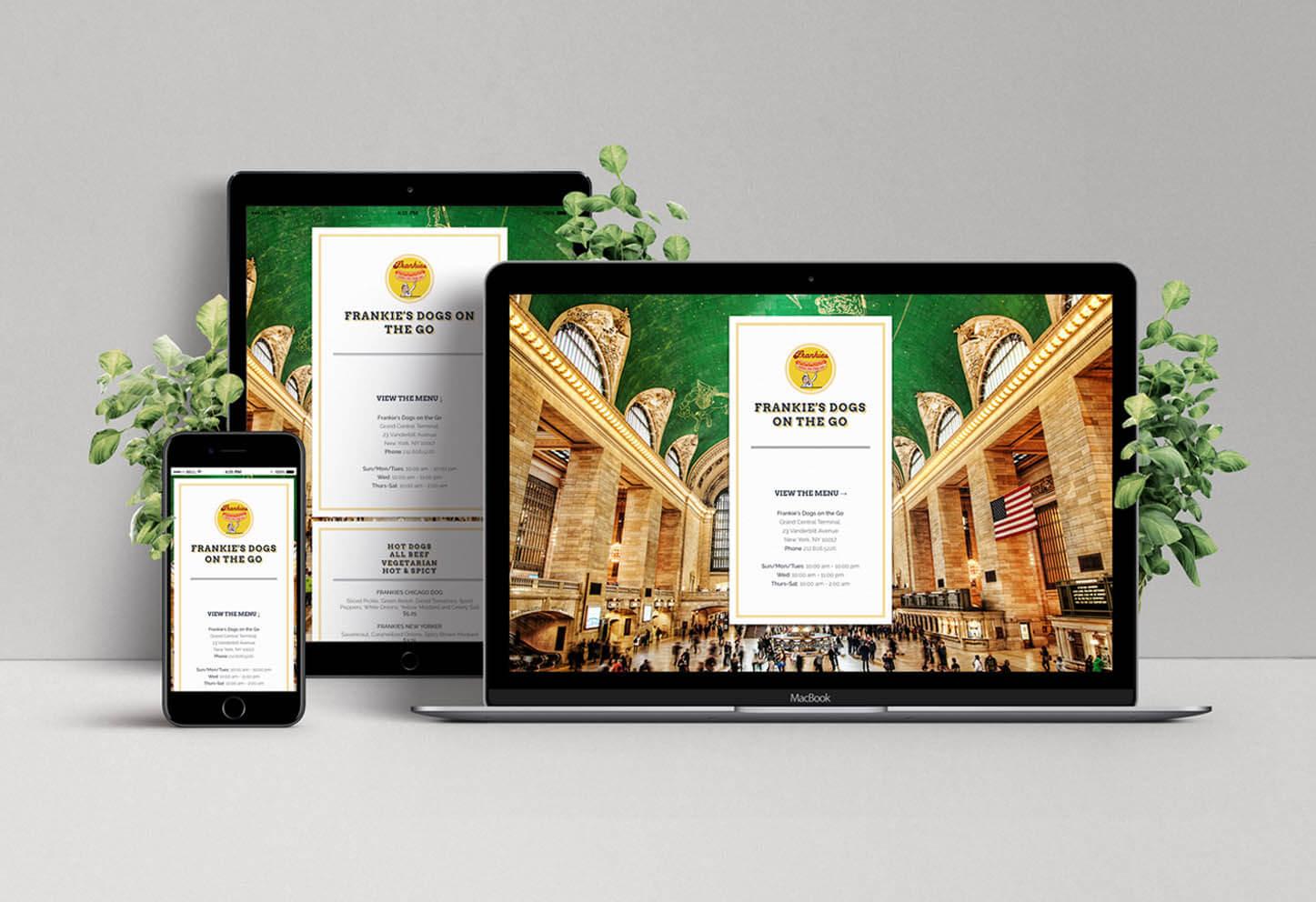 Website & SEO For a Food Vendor