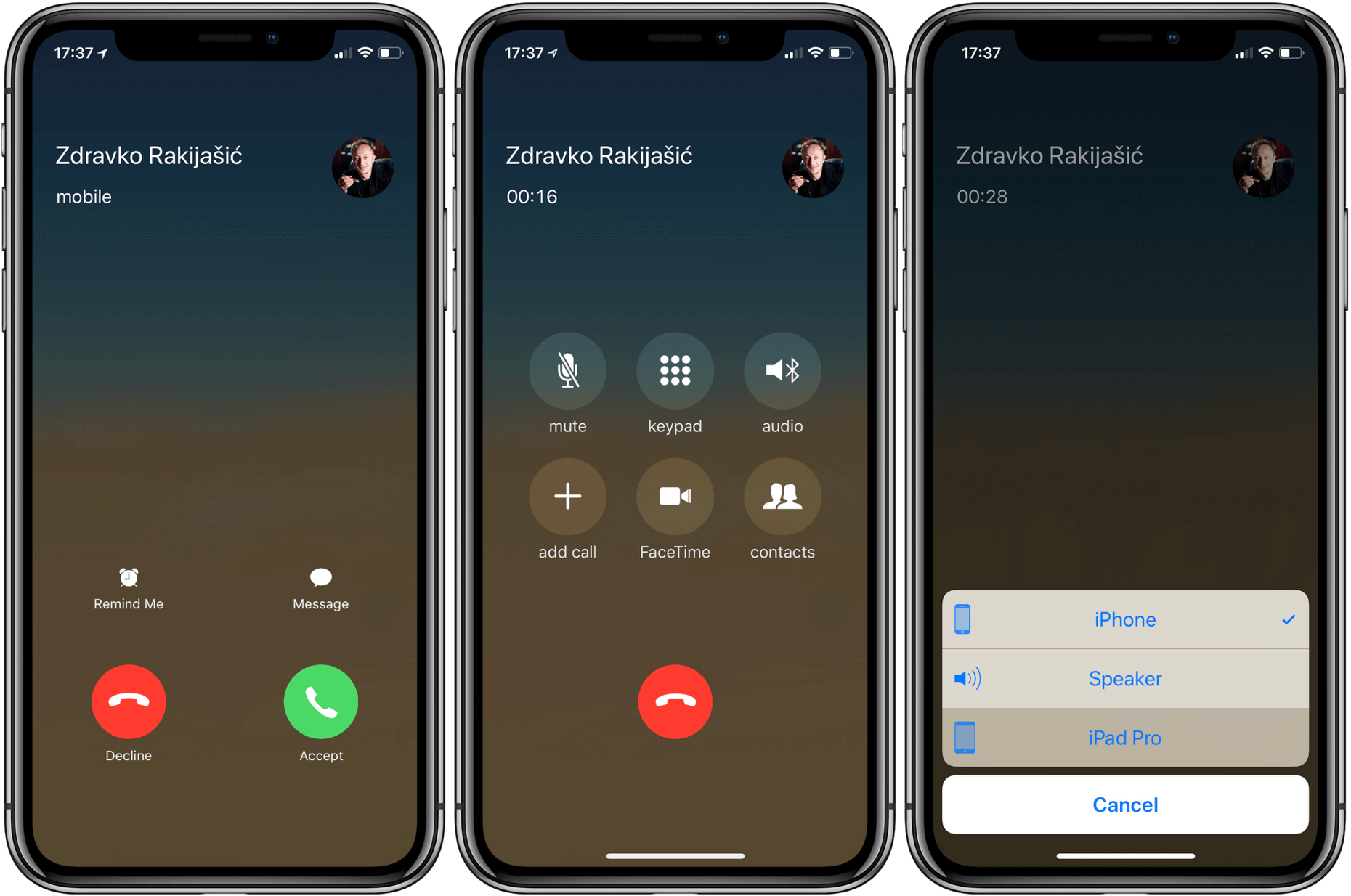 A Better Concept for iOS Call Audio Output Selection