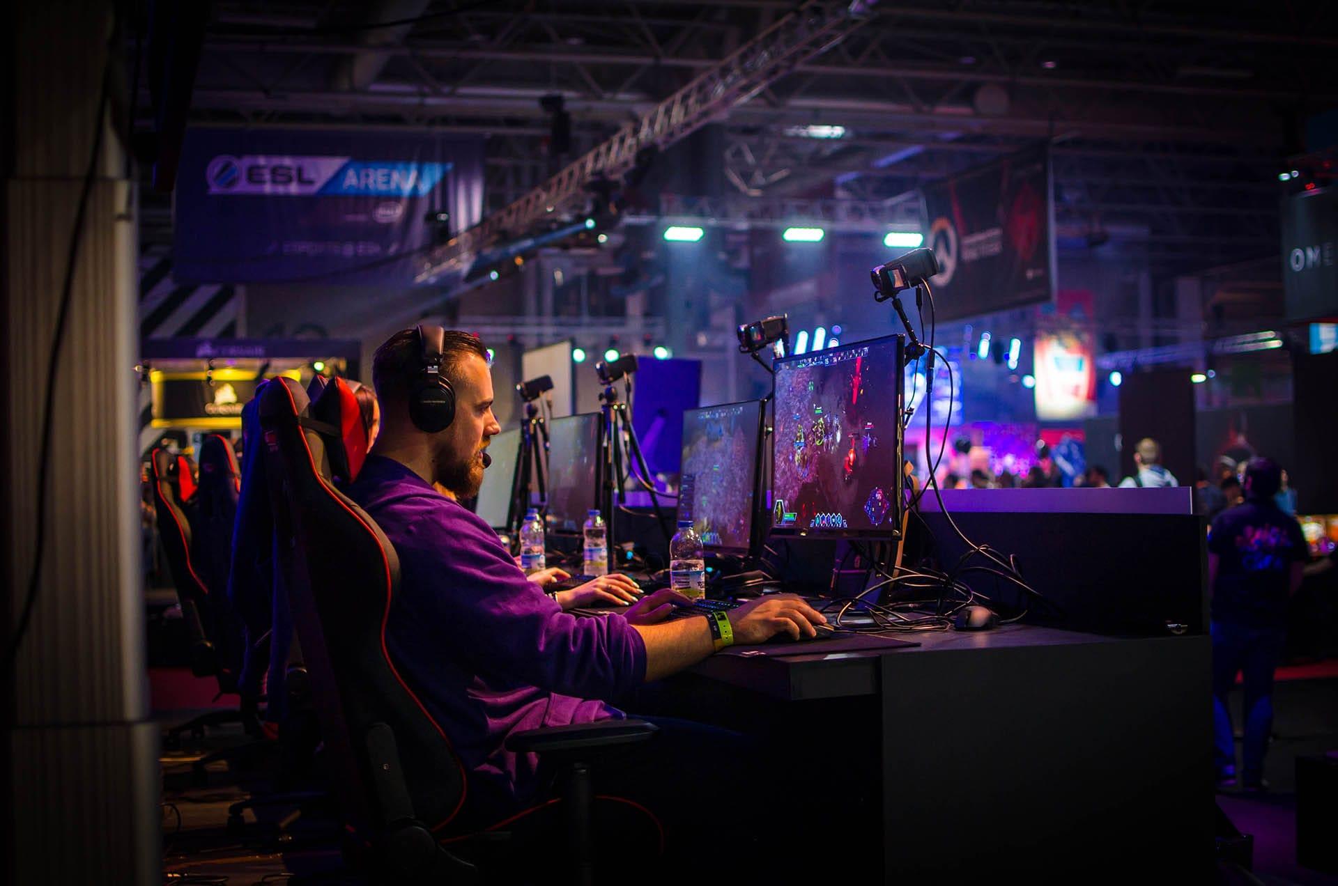 Gaming Center Landing Page