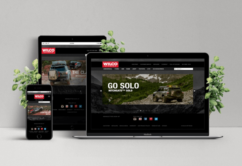 Website Redesign for Wilco